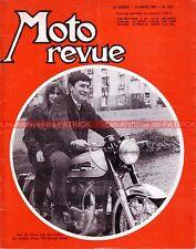 MOTO REVUE 1831 YAMAHA BSA Super Rocket VELOCETTE Clubman BABIN BMW 1967