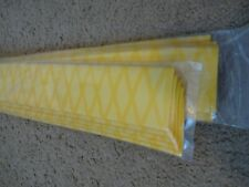 10 Rod Building Wrapping Yellow color X-Flock Heat Shrink tubing 40mmx1M