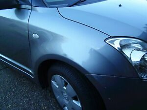 suzuki swift drivers side wing in grey. 2005 to 2010 Body Parts