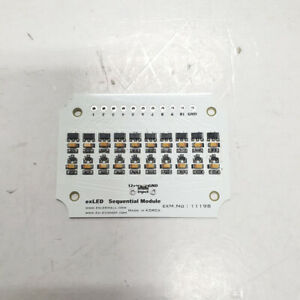 LED Sequential Fast Moving DIY Kit Module 10 Ports 1p for Hyundai Kia Vehicle