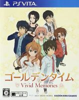 USED ​​PS VITA Golden Time Vivid Memories