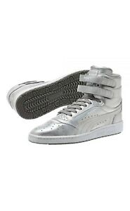 Puma Sky 2 Men's Size 11 Silver Hi Holographic Sneakers NEW 100% Authentic.