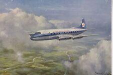 Postcard 1269 - Aircraft/Aviation KLM Vickers Viscount