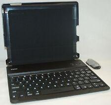 ZaggKeys Apple iPad 2/3/4 BLACK ProFolio Keyboard Shell Case stand bluetooth USA