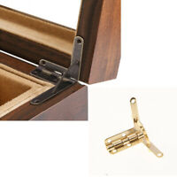 20pcs Antique 30x36mm Furniture Hinges 90 Degree Support Spring Hinge