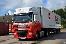 Truck Photos IrishBlair International DAF 106XF  & Fridge FRZ 4401