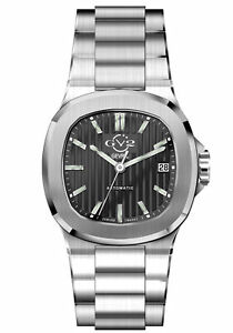 Gv2 By Gevril Men's 18100 Potente Swiss Automatic Stainless Steel Date Watch