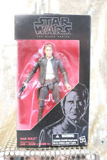 "Star Wars Han Solo Black Series # 18 - Star Wars The Force Awakens - 6"" NIB"