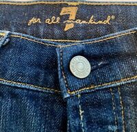7 For All Man Kind Women's Jeans Size 27 Boy cut