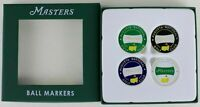 NEW Masters Ball Markers Set of 4 2018 Set Golf Tournament