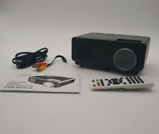 MOOKA Mini Projector Full HD 1080P Supported Video Projector 50,000 hr LED New