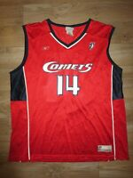 Cynthia Cooper #14 Houston Comets WNBA Reebok Jersey XL