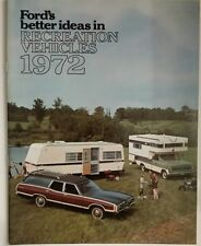 1972 Ford Recreation Vehicles 24 page Brochure