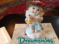 "Dreamsicles Figurine Time To Retire Dd103 4 1/8"" Good Condition Pre-Owned"