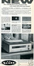 1957 HH Scott Model 300 Radio Print Ad with Jerome Hines