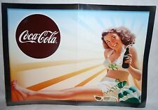 COCA-COLA Affiche poster papier pin-up 30x42 cm neuf