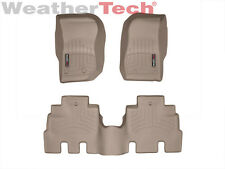 WeatherTech Floor Mats FloorLiner for Jeep Wrangler Unlimited - 2014-2017 - Tan