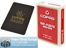 COPAG 100% PLASTIC POKER PLAYING CARDS + COPAG CUT CARD