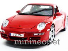 MAISTO 31692 PORSCHE 911 997 CARRERA S 1/18 DIECAST RED