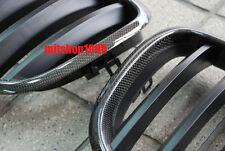 BMW  X5 E70 X6 E71 1x1 Weave Carbon Fiber Front Grilles 2007-2013