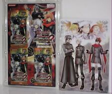 KONAMI japanese anime D.GRAY MAN trading cards 3 packs 30 cards set /with poster