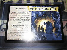 HARRY POTTER GAME TCG QUIDDITCH CUP INTO THE FORBIDDEN FOREST 39/80 UNCO EN MINT