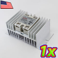 [1x] Aluminum Solid State Relay SSR Heat Sink for SSR-40 SSR-80 SSR-100 DD AD