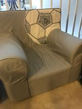 Pottery Barn Kids PBK Anywhere Chair Soccer Gray Slipcover Only