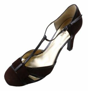 Charles by Charles David Mirage Women's Brown Suede High Heel Shoes size 9