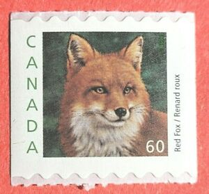 """Canada Stamp #1879 """"Wildlife Definitive - Red Fox""""  COIL MNH 2000"""