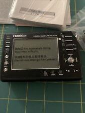 Franklin Speaking Global Translator