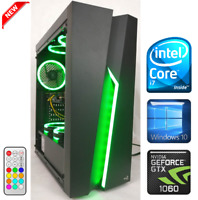 Gaming PC Desktop Intel Core i7 3.8GHz/GTX 1060/SSD/12GB RAM/1TB HDD/RGB