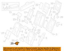 AUDI OEM 12-18 A6 Quattro Rear Seat-Mount 4G0886177