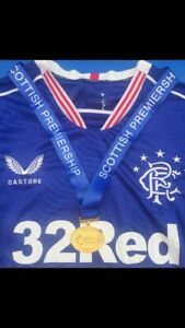Rangers Fc 55th Title Medal
