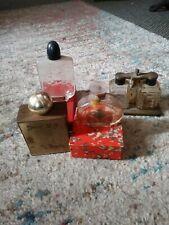 4 Vintage perfume bottle lot Jasmin Lander