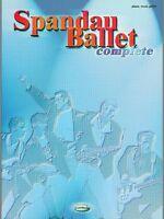 Spandau Ballet Complete (Pvg) Piano/Voice/Guitar