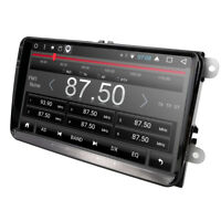 "For VW PASSAT GOLF MK5 6 TOURAN CADDY JETTA Car Radio Android 7.1 GPS DAB+ 9"" 4G"