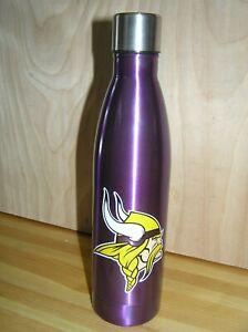 Minnesota Vikings 18 oz. Team Color Stainless Steel Water Bottle