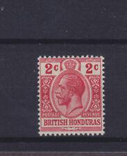 British Honduras KGV 1913-21 SG 102a Mounted Mint