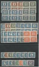 Canadá, Sello de Correos, # Postal Nota Sellos Timbre Nh Bloques, Jfz