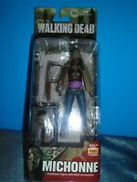 "2014 MCFARLANE TOYS WALKING DEAD SERIES 6 MICHONNE 5"" ACTION FIGURE"
