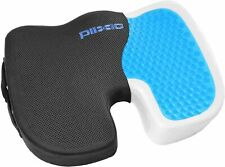 Plixio Gel Seat Cushion Memory Foam Chair Pillow with Cooling Gel (NEW)