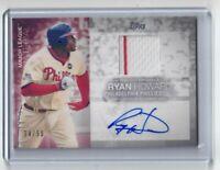 RYAN HOWARD 2020 Topps Update Major League Materials Autograph 34/50