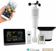 La Crosse Technology C83100-INT WiFi Professional Weather Station Black