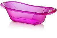 Large 50 Litre Aqua PURPLE Clear Transparent Baby Bath Tub
