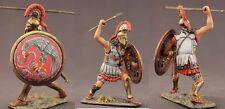 Tin toy soldiers ELITE painted 54 mm Spartan Greek Hoplite with Spear
