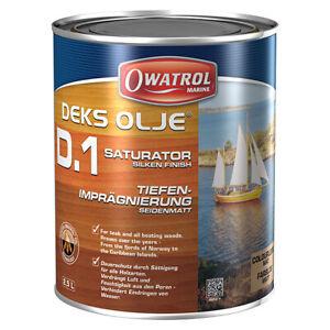 OWATROL Marine D1, Decksöl, 2,5 Liter, Tiefenimprägnierung Holzschutz