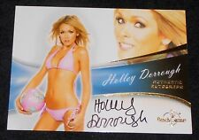 BENCHWARMER 2013  - HOLLY DORROUGH - AUTOGRAPH CARD   HOT !!