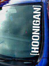 600mm 60cm groß HOONIGAN Auto Windschutzscheibe Sticker Aufkleber Ken Block
