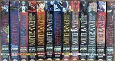 Neon Genesis Evangelion VHS Complete Set 1-13 Dubbed in English 13 Video Tapes